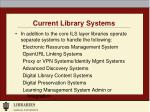 current library systems