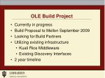 ole build project