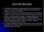 journal sources