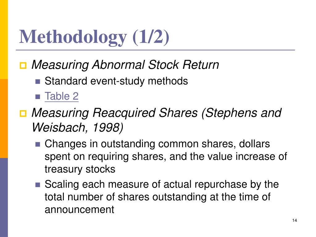 Methodology (1/2)