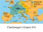 charlemagne s empire 814