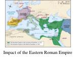 impact of the eastern roman empire