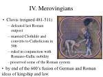 iv merovingians