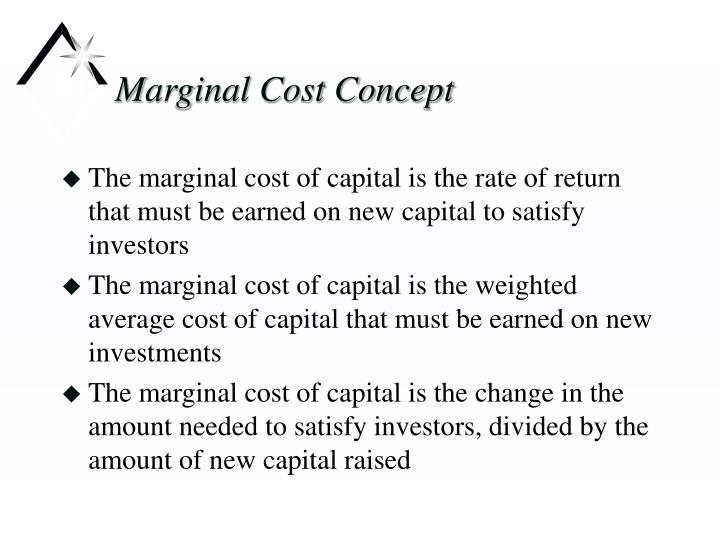 various concepts of cost of capital The profits for the owners is the difference between the return on capital and the cost of capital for example, if you borrow $100,000 and pay 10% interest yet earn 15% after taxes, the profit of 5%, or $5,000, would not have existed without the debt capital infused into the business.
