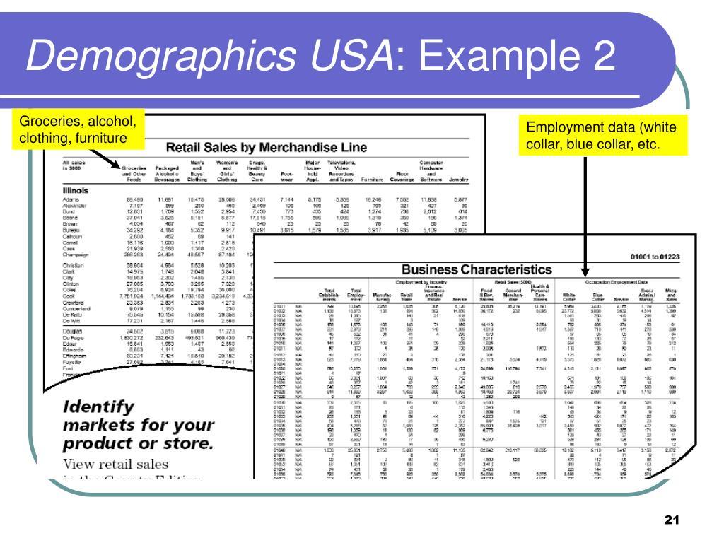 Demographics USA
