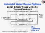 industrial water reuse options17