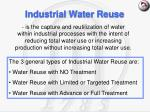 industrial water reuse