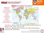 where are glean hot spots