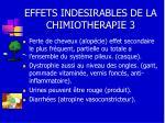 effets indesirables de la chimiotherapie 3