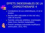 effets indesirables de la chimiotherapie 4