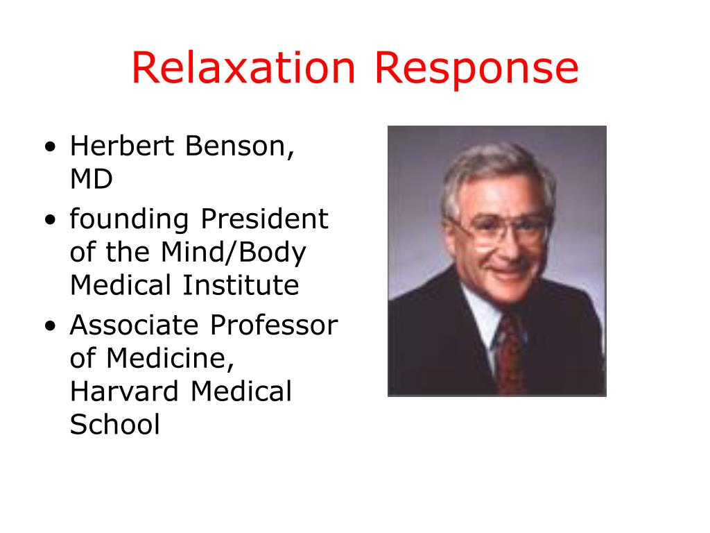 Relaxation Response