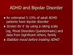 adhd and bipolar disorder