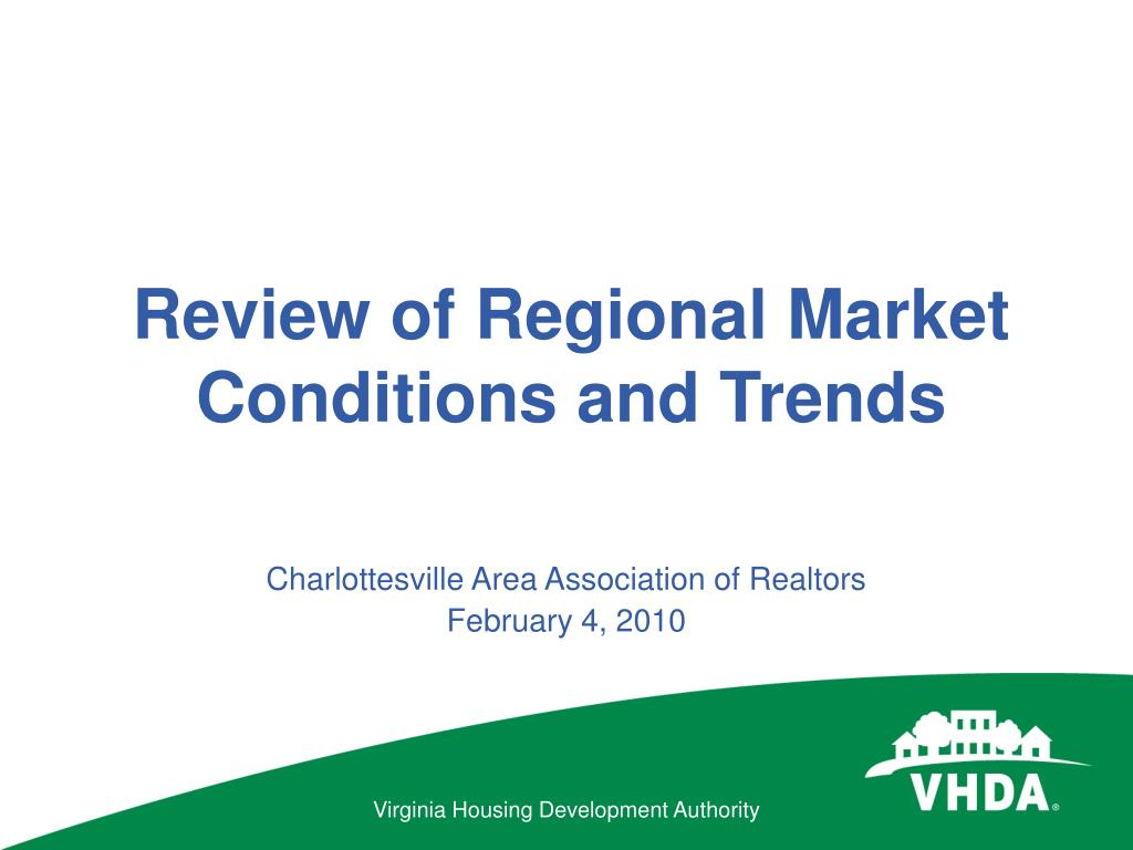 review of regional market conditions and trends l.