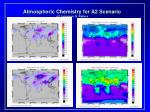 atmospheric chemistry for a2 scenario j f lamarque s walters
