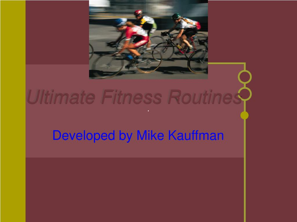 ultimate fitness routines l.