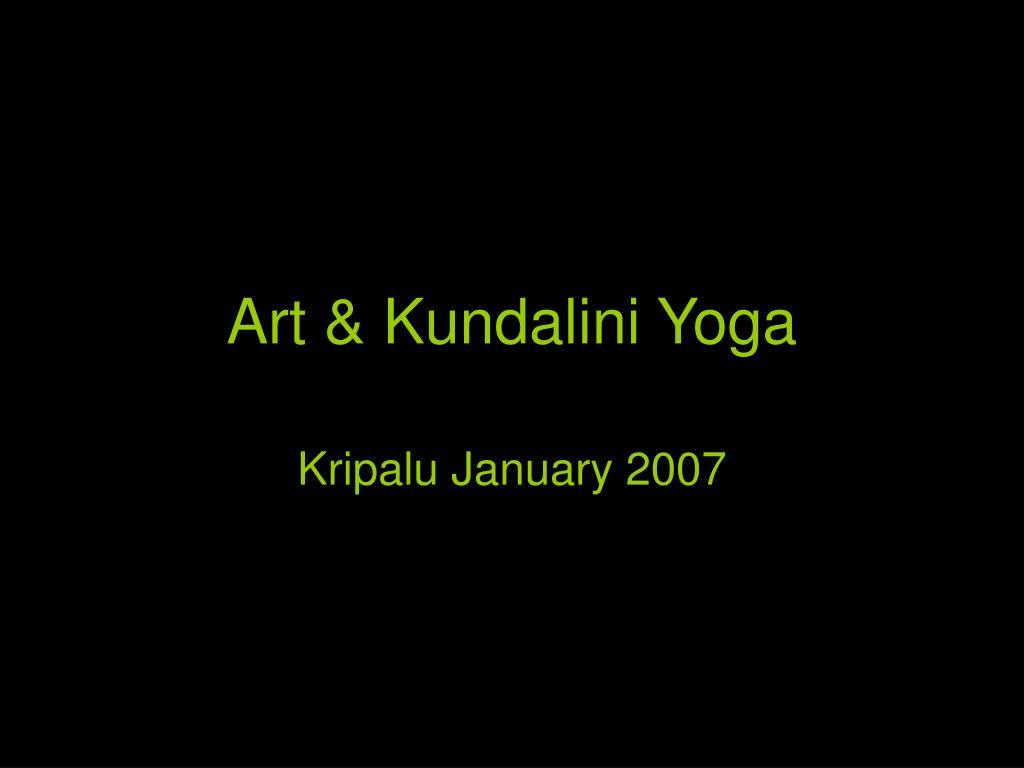 art kundalini yoga l.