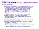 ieee standards gsc 14 high interest subjects13
