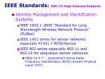 ieee standards gsc 14 high interest subjects8