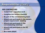 responsibilities cont41