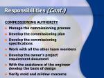 responsibilities cont42