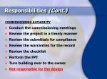 responsibilities cont43