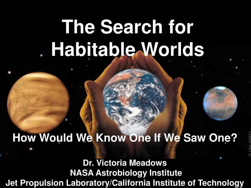 the search for habitable worlds l.