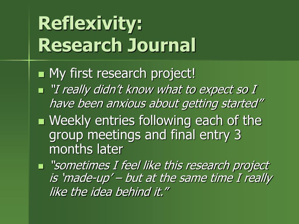 Reflexivity: