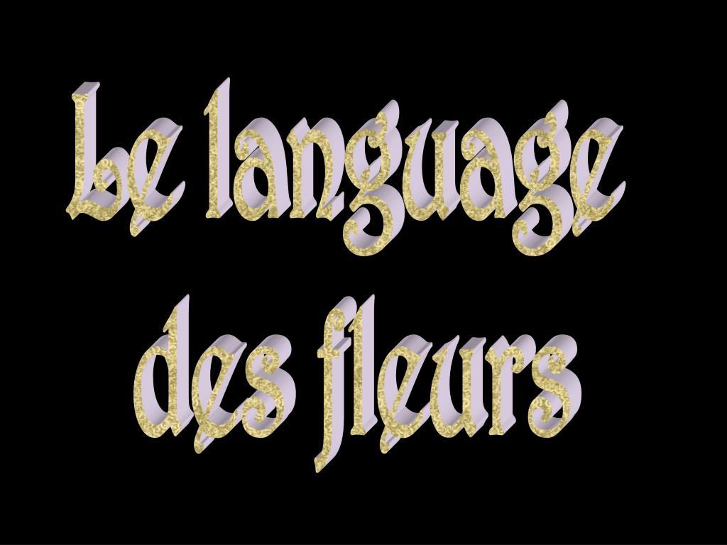 Le language