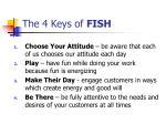 the 4 keys of fish