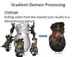 gradient domain processing30