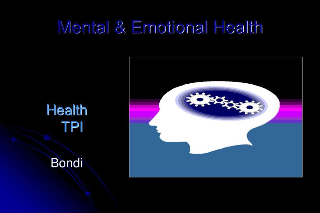 mental emotional health l.
