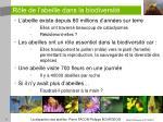 r le de l abeille dans la biodiversit