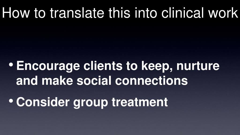 How to translate this into clinical work