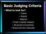 basic judging criteria18