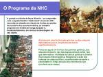 o programa da nhc20