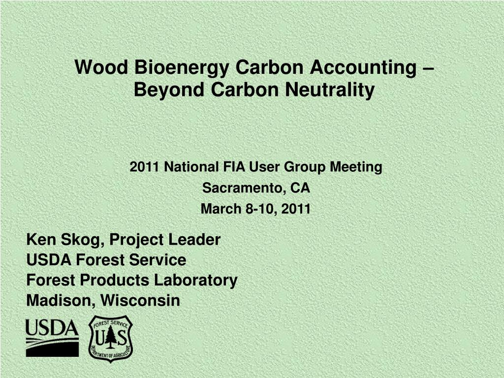 wood bioenergy carbon accounting beyond carbon neutrality l.