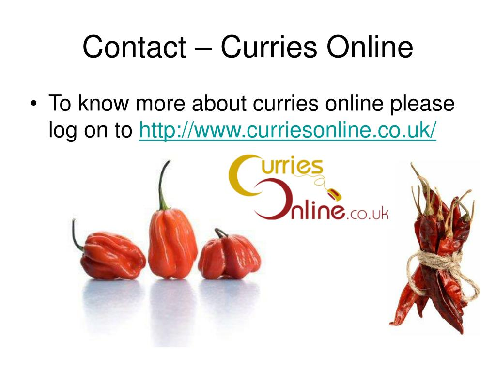 Contact – Curries Online