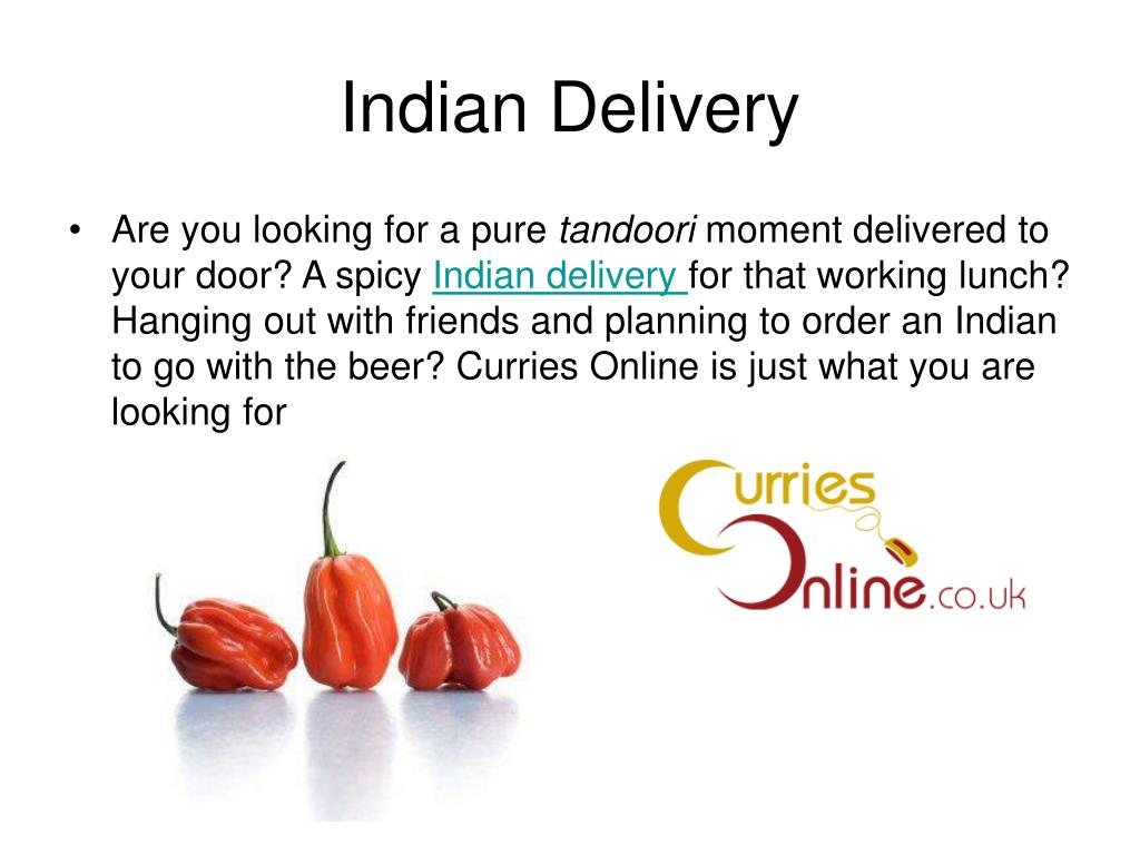 Indian Delivery