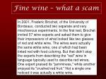 fine wine what a scam10