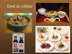 food in culture