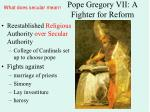 pope gregory vii a fighter for reform