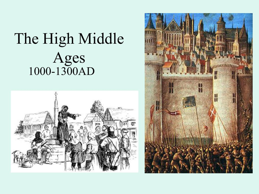 the high middle ages l.