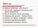 start up how do churches fund a multi site vision