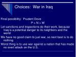 choices war in iraq15
