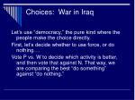 choices war in iraq17