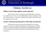 online archives