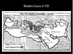 moslem empire in 750
