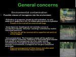 general concerns18