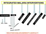 integrated malaria interventions
