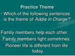 practice theme